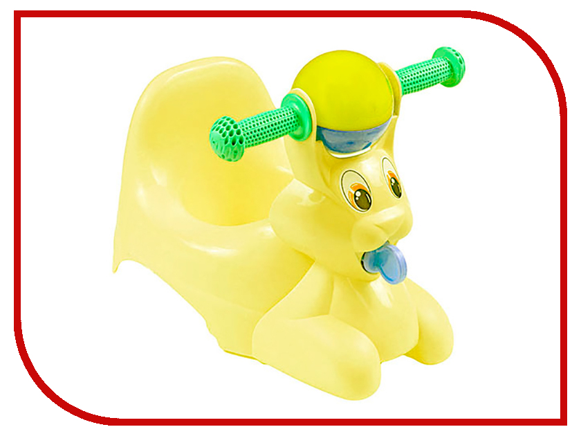 Горшок Little Angel Зайчик Yellow Pastel LA2710ЖТП-5PS