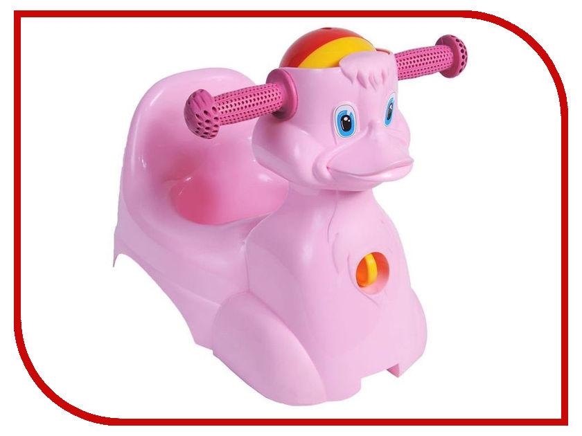 Горшок Little Angel Уточка Pink LA2714РЗ-5PS