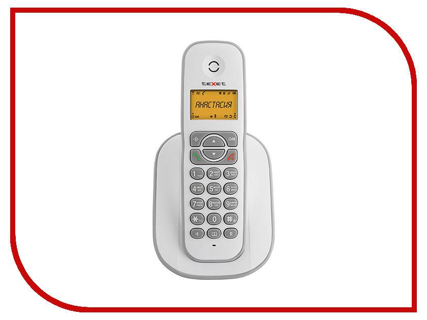 Радиотелефон teXet TX-D4505A White-Grey texet tx d7455a купить