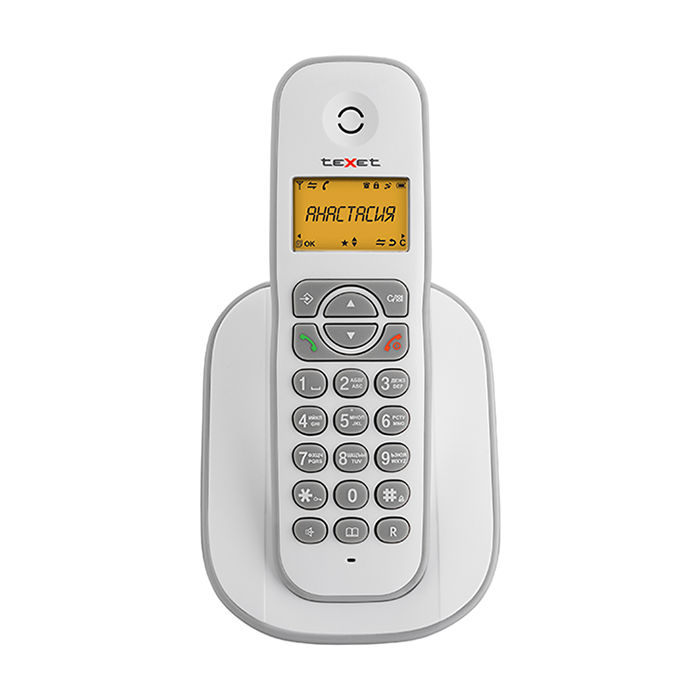 цена Радиотелефон teXet TX-D4505A White-Grey онлайн в 2017 году