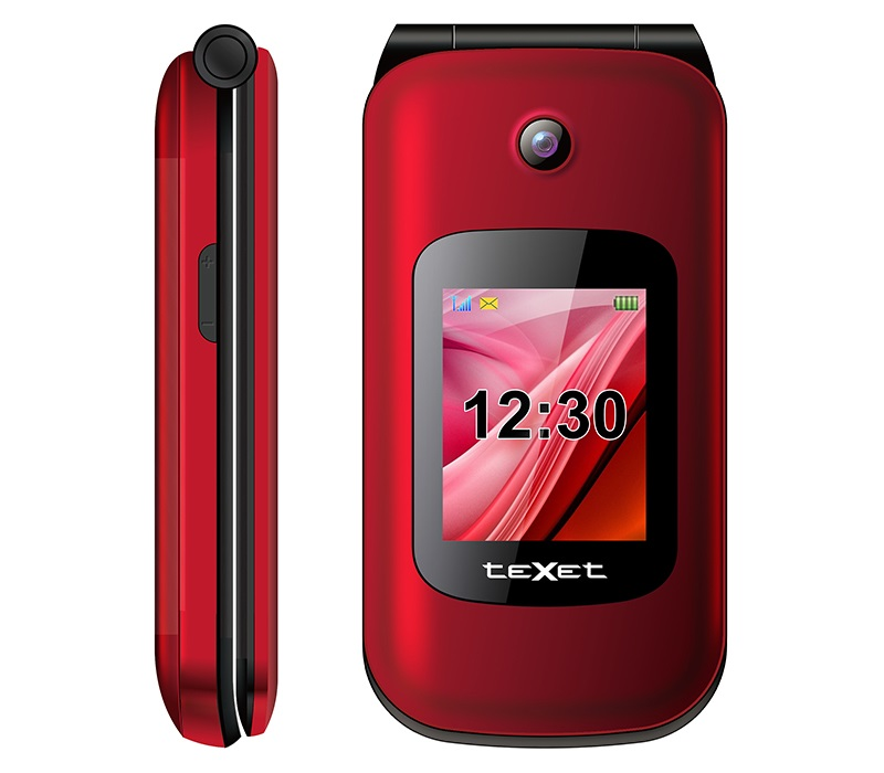 Сотовый телефон teXet TM-B216 Red мобильный телефон texet tm 501 red 2 8 240x320 2g 3g bt 0 3mp