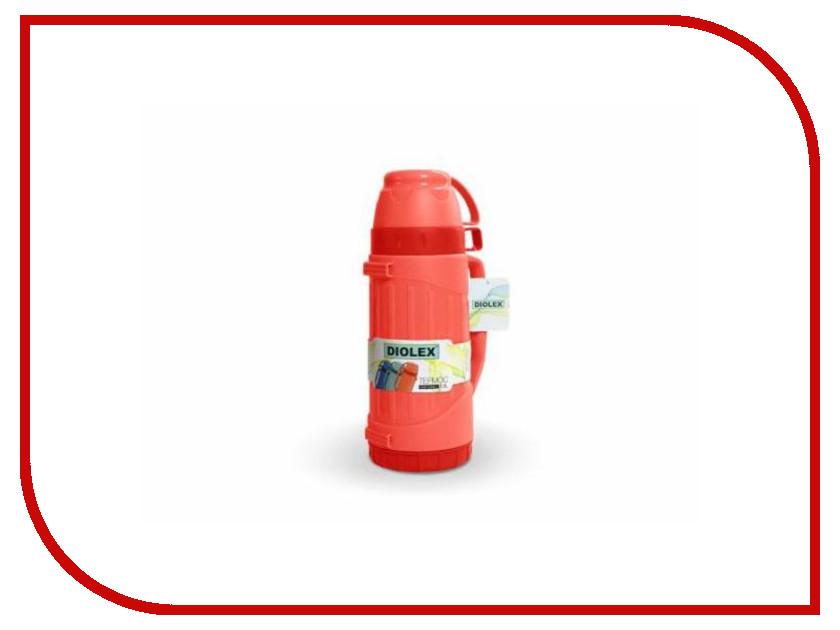 Термос Diolex DXP-1800-1-R 1.8L Red термос diolex dxp 600 1 600ml green