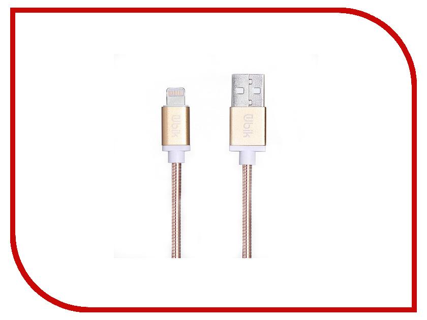Аксессуар Ubik UPL10 USB - Lightning Silver цена и фото