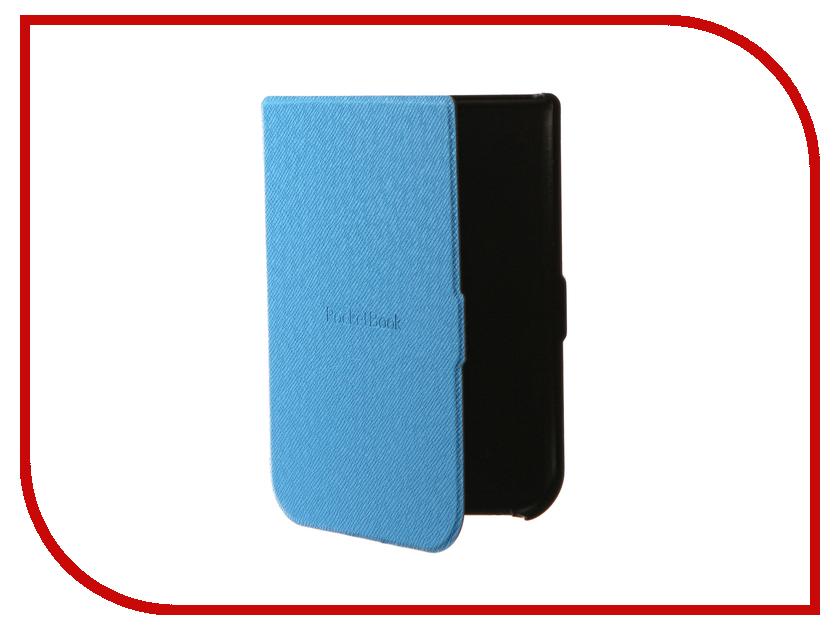 Аксессуар Чехол PocketBook 631 Light Blue PBC-631-BL-RU аксессуар чехол pocketbook 614 615 625 626 dark blue pbc 626 bl ru