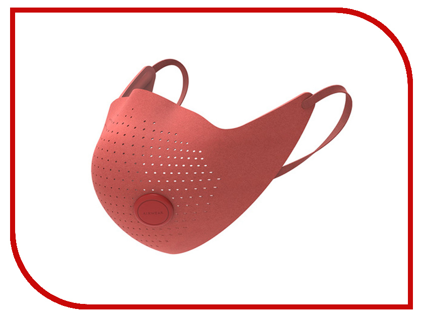 Респиратор Xiaomi MiJia AirWear Anti-Fog аnd Haze Mask Red