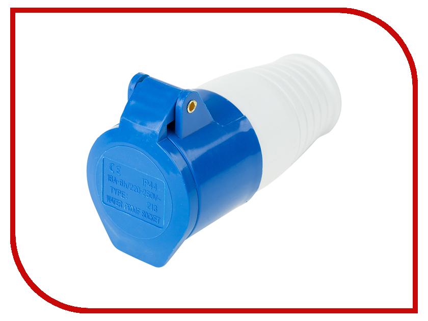 Розетка Rexant 213 2P+PE 11-8918