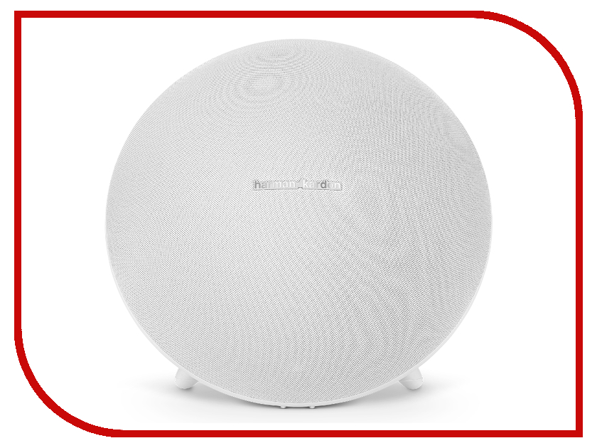 Колонка Harman Kardon Onyx Studio 4 White HKOS4WHTEU портативная акустическая система harman kardon onyx studio 3 серый onyxstudio3grayeu