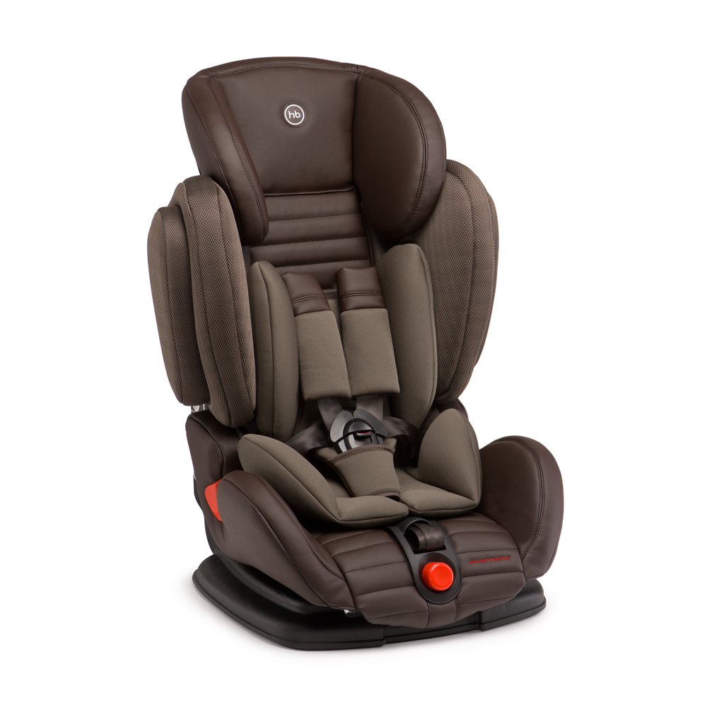 Автокресло Happy Baby Mustang Brown 4690624016721 автокресло happy baby mustang grey