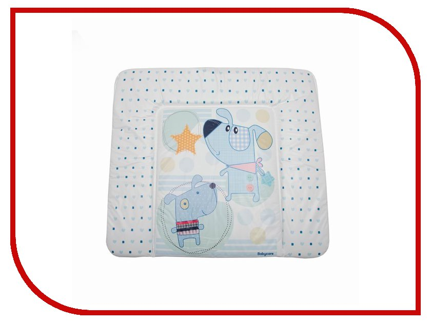 Детский матрас Baby Care Puppy Dog BC01 Blue 820x730x210cm детский матрас baby care funny bunny bc01 green 820x730x210cm