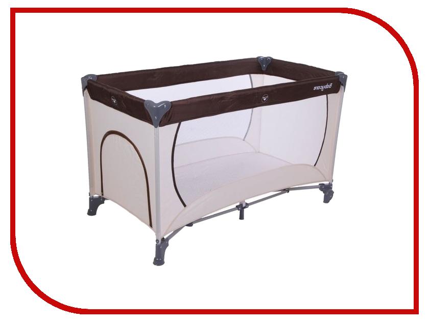 Манеж-кровать Baby Care Arena OB-888 Beige-Brown baby care ob 888 arena coffee beige