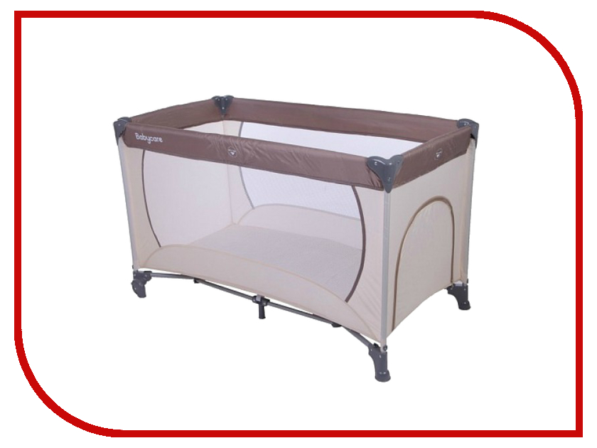 Манеж-кровать Baby Care Arena OB-888 Coffee Beige