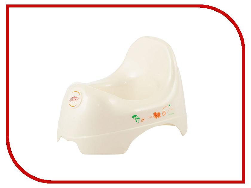 Горшок Baby Care JBB-A White аксессуар baby care набор светоотражающих накладок для коляски 2шт white