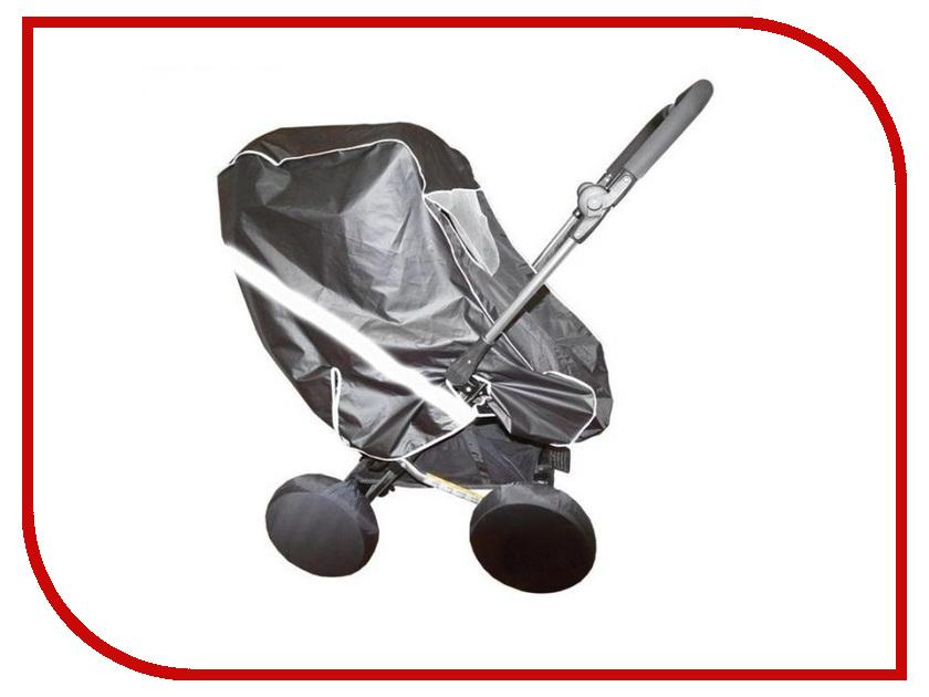 Дождевик-ветровик для колясок Baby Care Junior 502п Grey аксессуар baby care набор светоотражающих накладок для коляски 2шт white