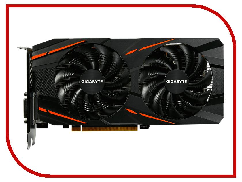 Видеокарта Gigabyte Radeon RX 580 Gaming 4G 1355Mhz PCI-E 4096Mb 7000Mhz 256bit DVI-D HDMI OEM GV-RX580GAMING-4GD-MI gv n1070g1 gaming 8gd gigabyte