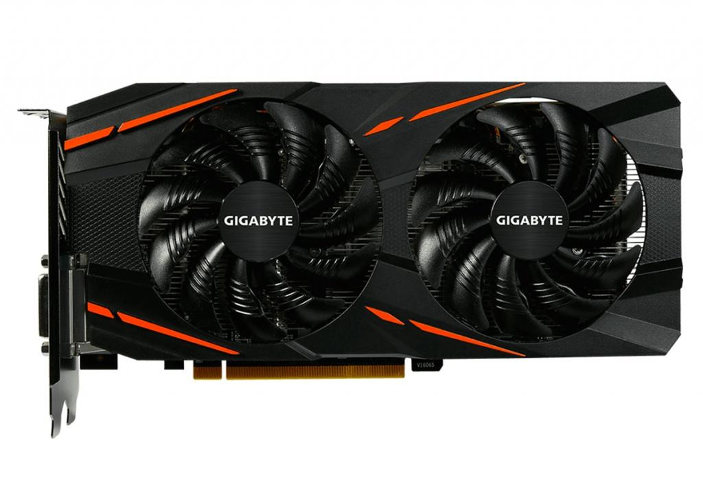 Видеокарта Gigabyte Radeon RX 580 Gaming 4G 1355Mhz PCI-E 4096Mb 7000Mhz 256bit DVI-D HDMI OEM GV-RX580GAMING-4GD-MI
