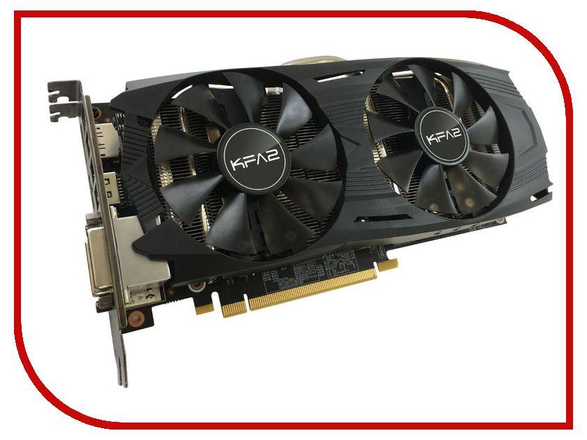 Видеокарта KFA2 GeForce GTX 1060 1544Mhz PCI-E 3.0 3072Mb 8008Mhz 192 bit 2xDVI HDMI HDCP White