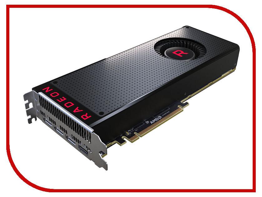 Видеокарта HIS Radeon RX Vega 64 AIR 1247Mhz PCI-E 3.0 8192Mb 945Mhz 2048 bit 3xDP HDMI HS-VEGR8SSNR