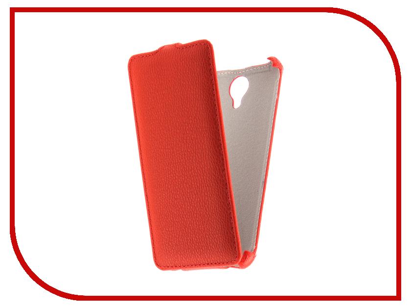 Аксессуар Чехол Fly FS517 Cirrus 11 Svekla Red FL-SVFLFS517-RED сотовый телефон fly fs517 cirrus 11 white gold
