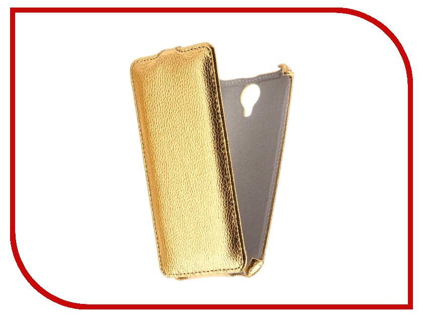 Аксессуар Чехол Fly FS517 Cirrus 11 Svekla Gold FL-SVFLFS517-GOLD сотовый телефон fly fs517 cirrus 11 white gold