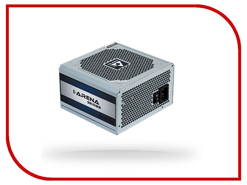 Блок питания Chieftec GPC-500S OEM 500W блок питания chieftec блок питания chieftec 500w atx 12v v 2 3 ps 2 type with 12cm fan pfc 80 plus bronze in black color extra long cables blc 500s