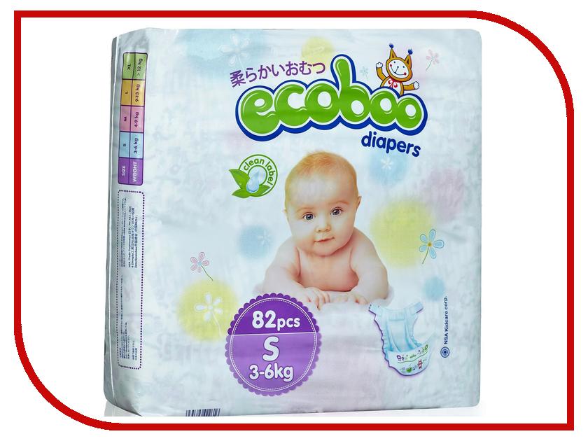 Подгузники Ecoboo S 3-6кг