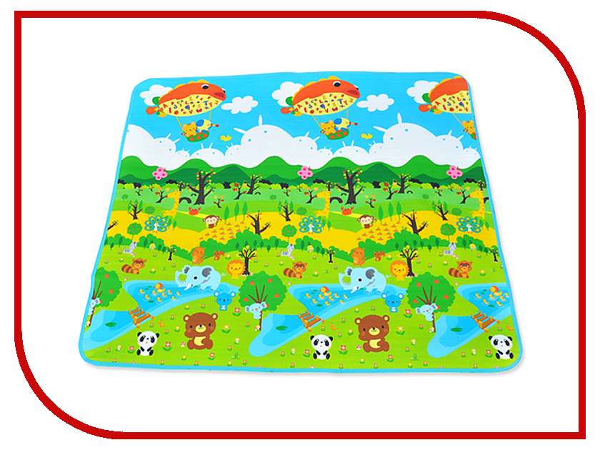 Развивающий коврик Mambobaby Лесной парк 150x180x0.5cm 60113 лего лесной заповедник