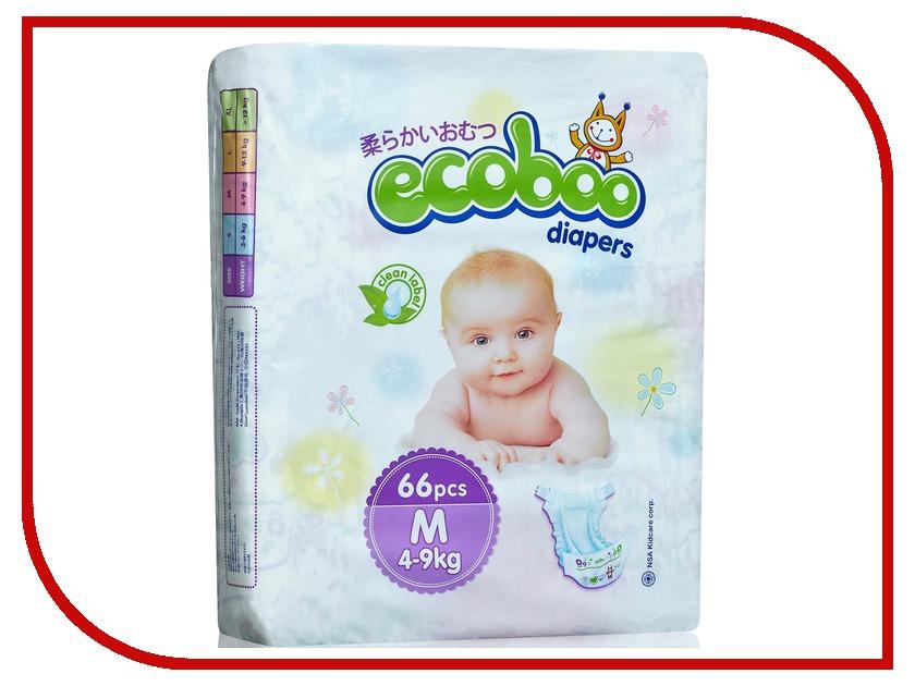 Подгузники Ecoboo M 4-9кг подгузники детские ecoboo детские одноразовые подгузники трусики
