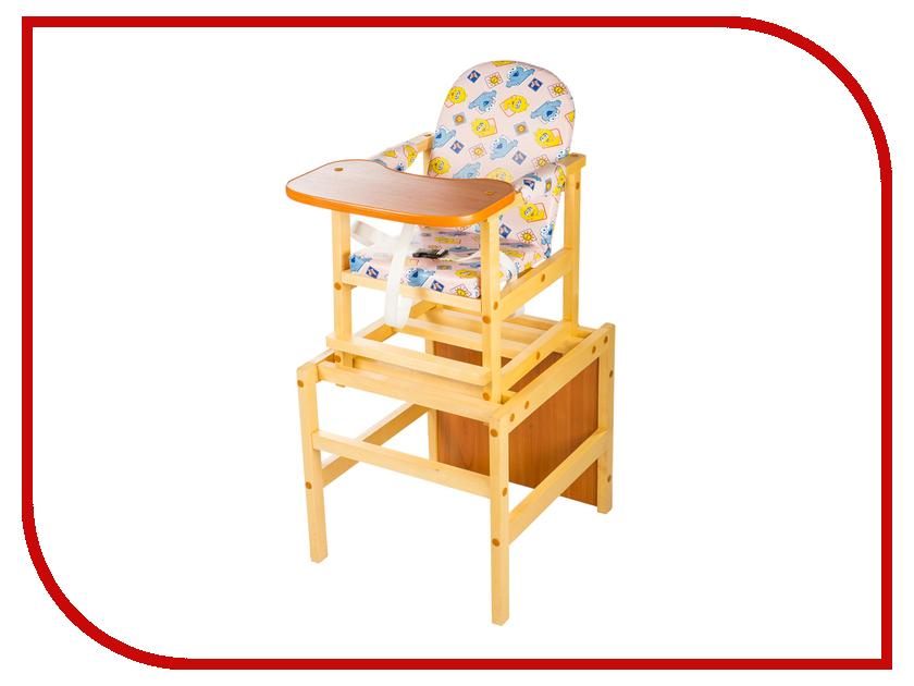 Стул ПМДК Октябренок Цыплята Light 00000055295 стол стул для кормления пмдк октябренок капитошка светлый дуб