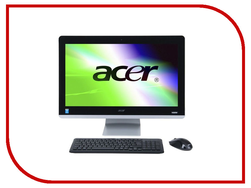 Моноблок Acer Z3-715 DQ.B84ER.006 (Intel Core i5-7400T 2.4 GHz/4096Mb/1000Gb/DVD-RW/nVidia GeForce 940M 2048Mb/Wi-Fi/Bluetooth/Cam/23.8/1920x1080/Windows 10) моноблок цена купить