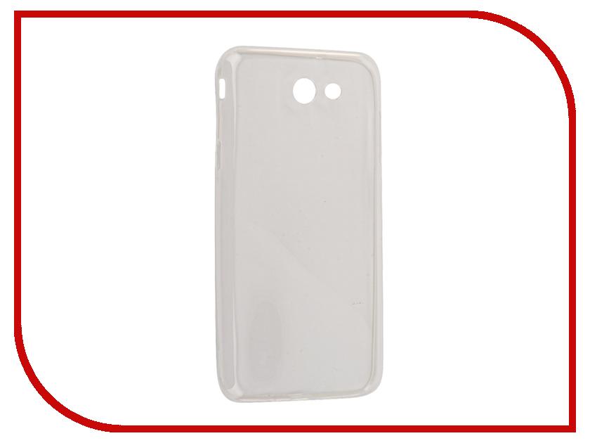 Аксессуар Чехол Samsung Galaxy J7 2017 Snoogy Silicone 0.3mm White Sn-slk-SM-j7/2017/-wht смартфон samsung galaxy j7 2016 sm j710fn gold