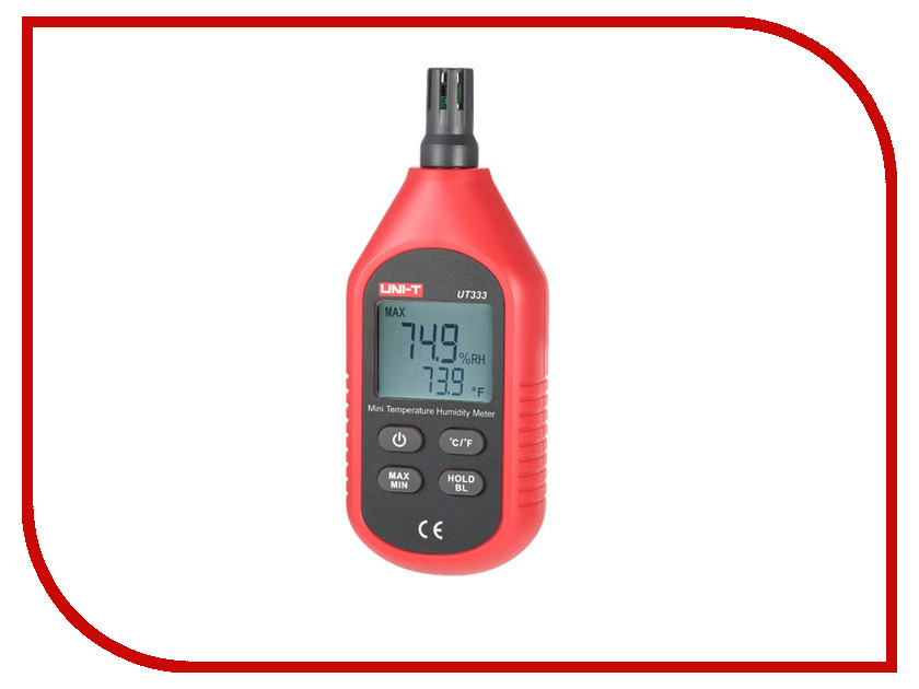 Гигрометр UNI-T UT333 uni t ut220 handheld 2 lcd digital clamp multimeter red grey 1 x 6lf22 max 2000