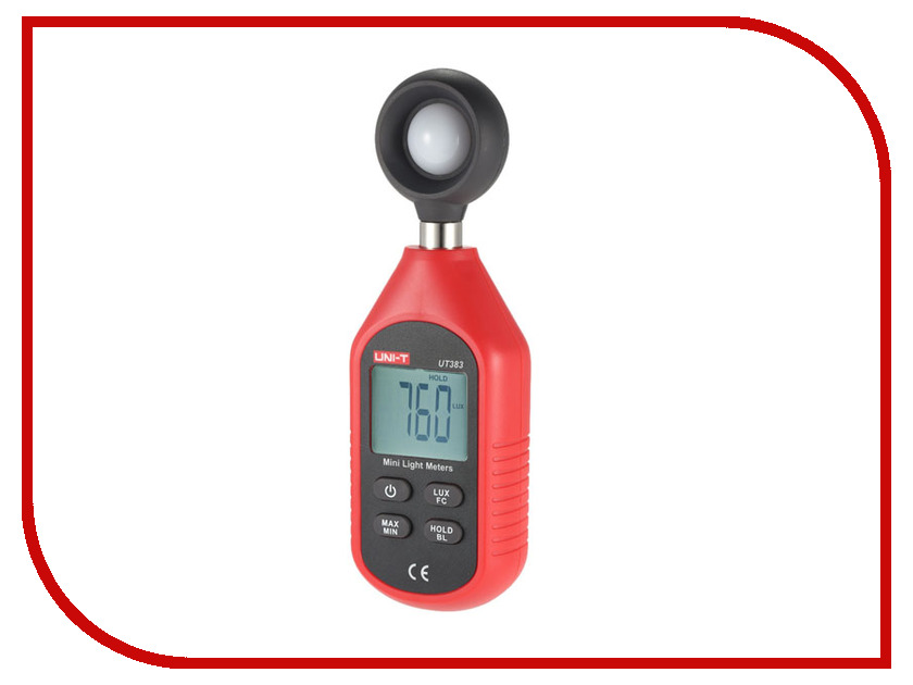 Измеритель освещенности UNI-T UT383 uni t ut139a true rms digital multimeter auto manual range ac dc amp volts ohm tester with data hold ncv and battery test