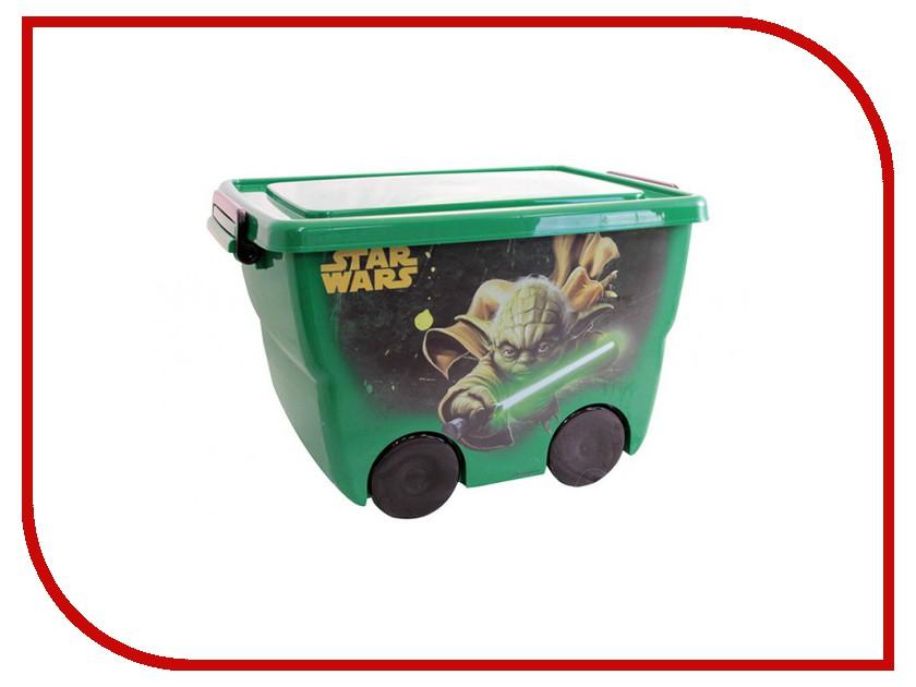 Корзина для игрушек Idea М 2550-З Звездные войны 24L Green 00000659363