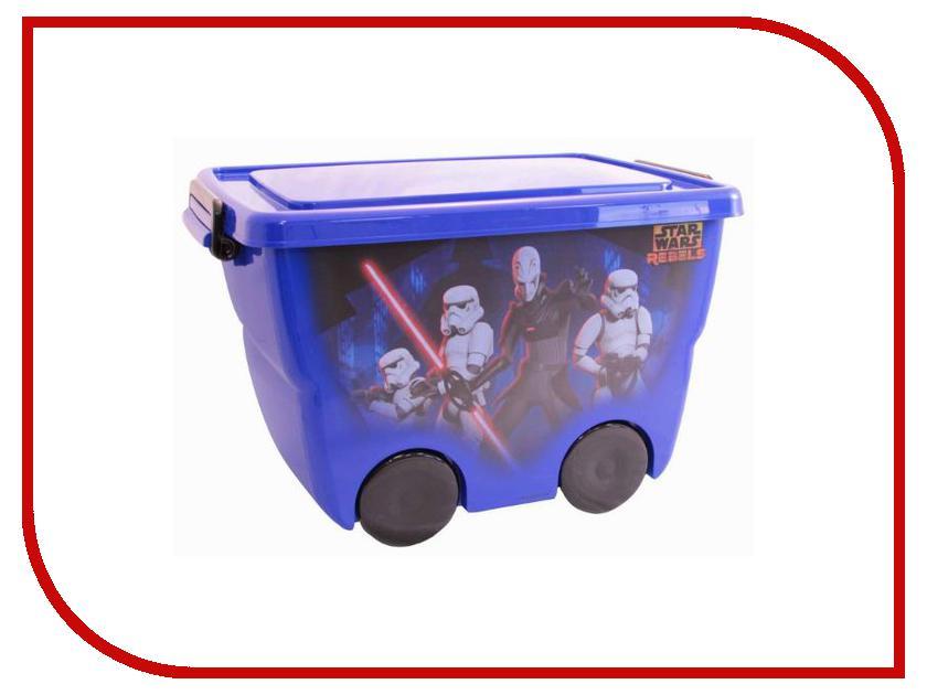 Корзина для игрушек Idea М 2550-З Звездные войны 24L Blue 00000659363