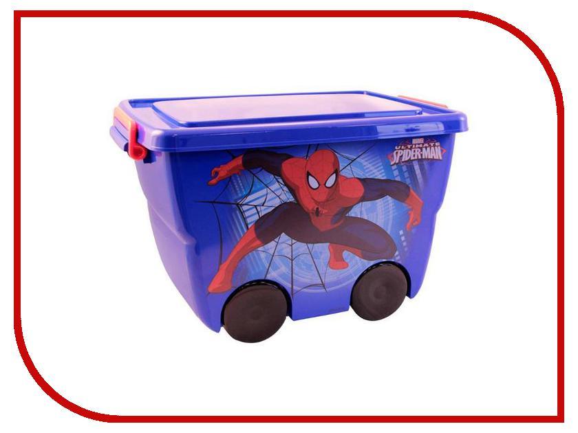 Корзина для игрушек Idea М 2550-М Человек-Паук 24L Blue 00000659362 флавит м