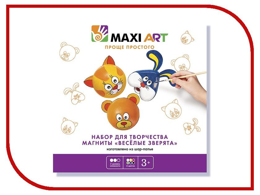 Набор Maxi Art Магниты Веселые зверята МА-0516-03 belvedere коррекция объ ма