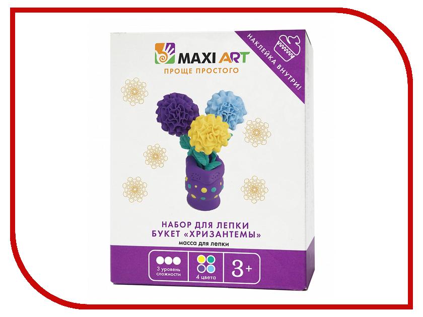 Набор для лепки Maxi Art Букет хризантемы MA-0816-15
