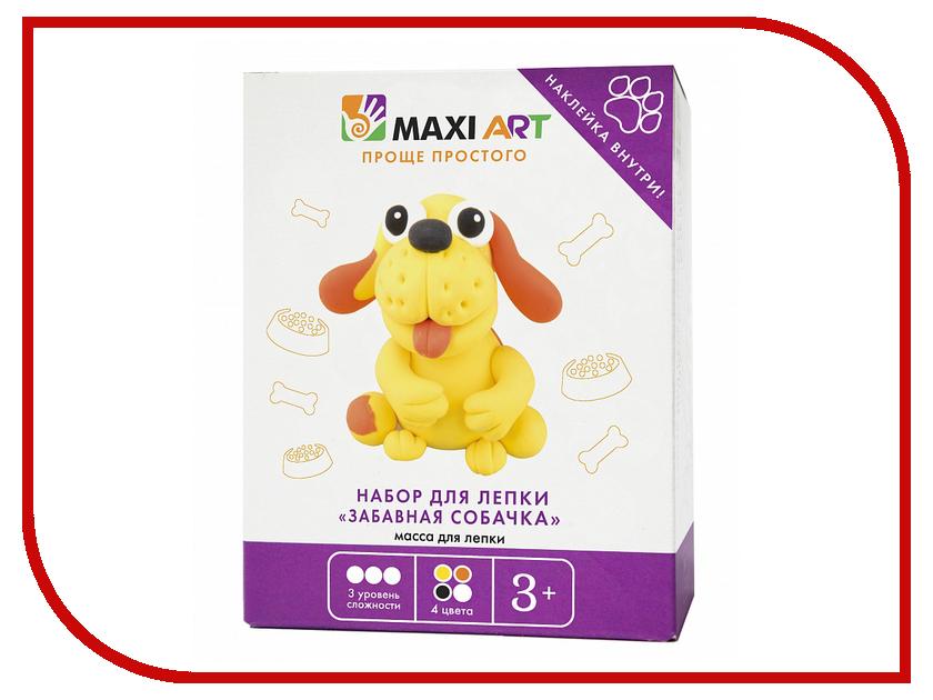 Набор для лепки Maxi Art Забавная собачка MA-0816-19