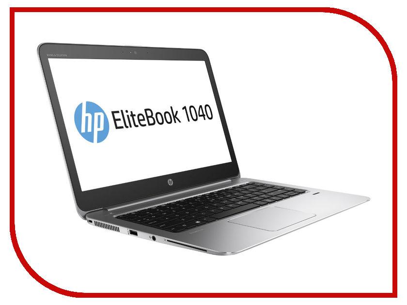 Ноутбук HP EliteBook 1040 G3 1EN06EA (Intel Core i5-6200U 2.3 GHz/8192Mb/256Gb/No ODD/Intel HD Graphics/Wi-Fi/Bluetooth/Cam/14/1920x1080/Windows 7 64-bit)