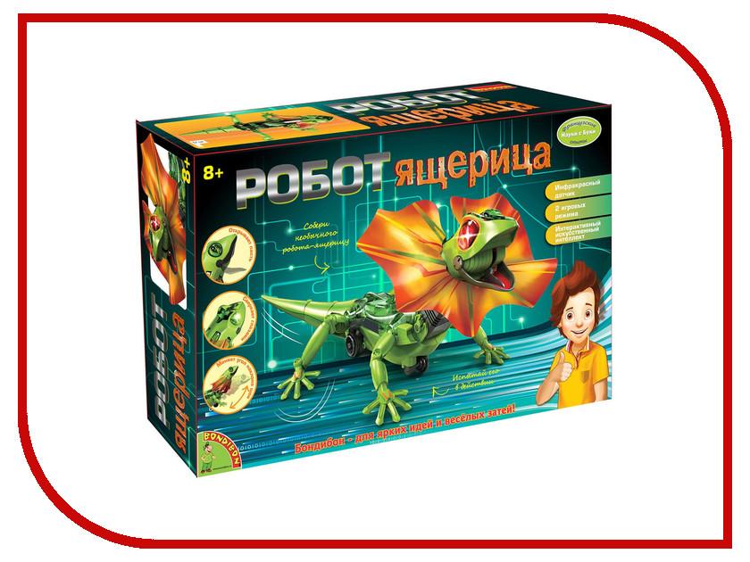 Игра Bondibon Науки с Буки Робот-ящерица ВВ2293 2015 моды крюк уха gekkonidae ящерица горячей продажи серьги стержня популярные