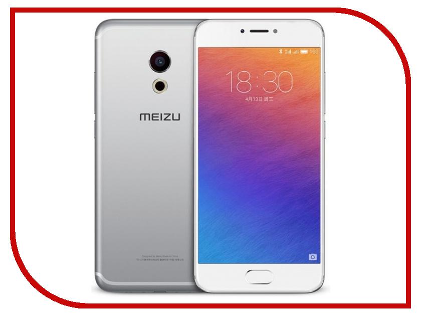 Сотовый телефон Meizu Pro 6 Plus 64Gb Silver-White pro 6 5m
