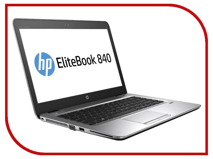 Ноутбук HP Elitebook 840 G4 1EN63EA (Intel Core i5-7200U 2.5 GHz/8192Mb/256Gb SSD/Intel HD Graphics/Wi-Fi/Bluetooth/Cam/14/1920x1080/Windows 10 64-bit) ноутбук hp elitebook 820 g4 core i5 7200u 16gb 256gb ssd 12 5 fullhd win10pro