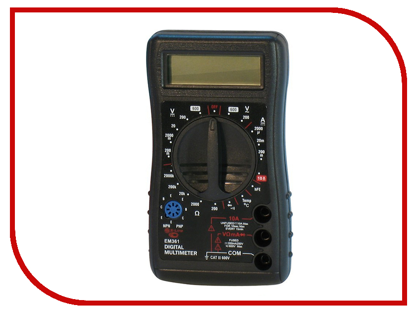 Мультиметр S-Line EM361