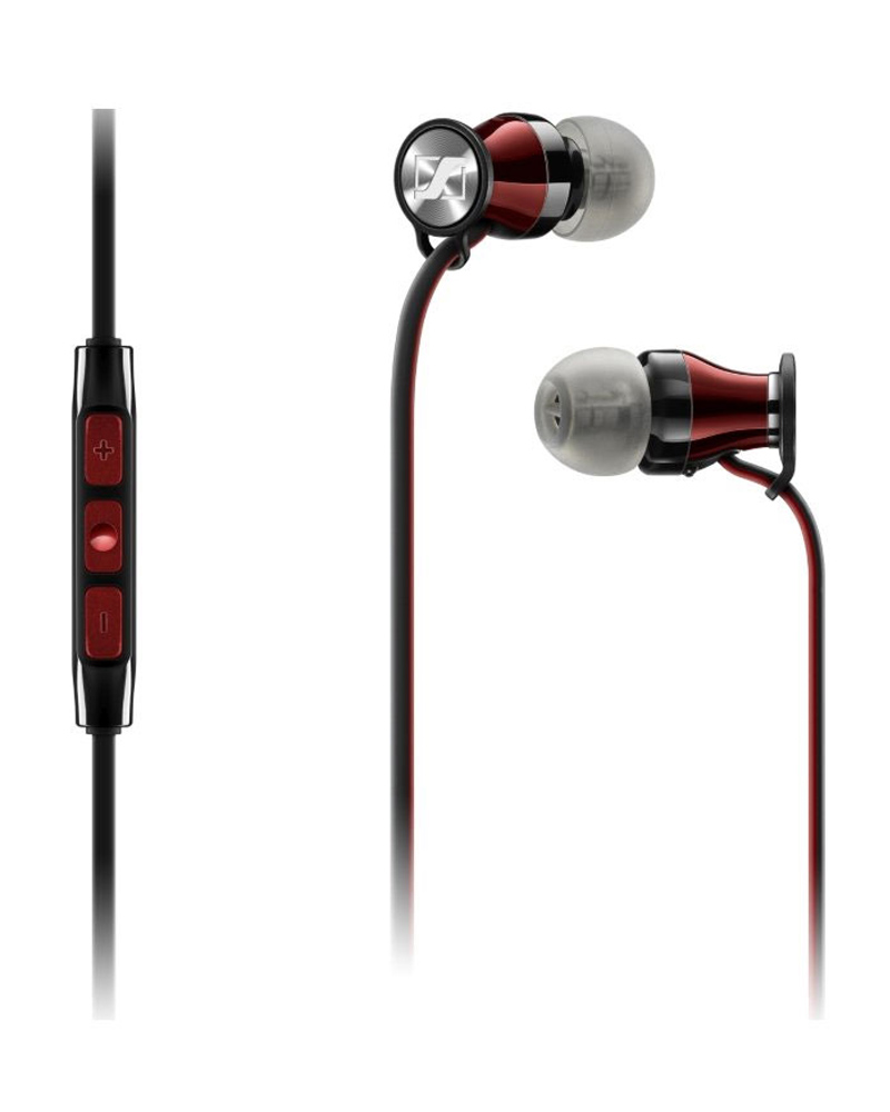 Sennheiser Momentum M2 IEG Black-Red 110db loud security alarm siren horn speaker buzzer black red dc 6 16v