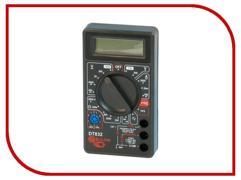 Мультиметр S-Line DT-832 мультиметр ресанта dt 890 b