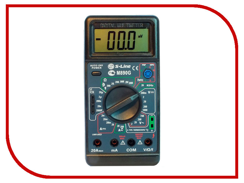 Мультиметр S-Line M-890G