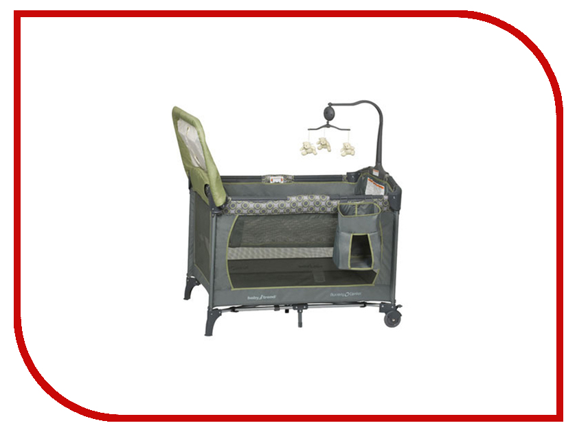 Манеж-кровать Baby Trend PY81400 Grey Green 00000654024