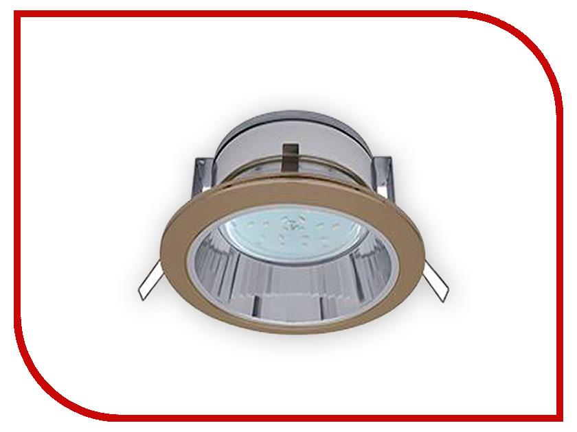 Светильник Ecola GX53 H2R Черненая бронза FN53H2ECB