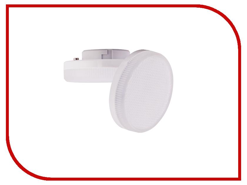 Лампочка Ecola LED GX53 6.0W Tablet 220V 4200K матовое стекло T5MV60ELC ecola ecola gx53 led 8003a светильник накладной ip65 прозрачный цилиндр металл 1 gx53 белый матовый 114x1