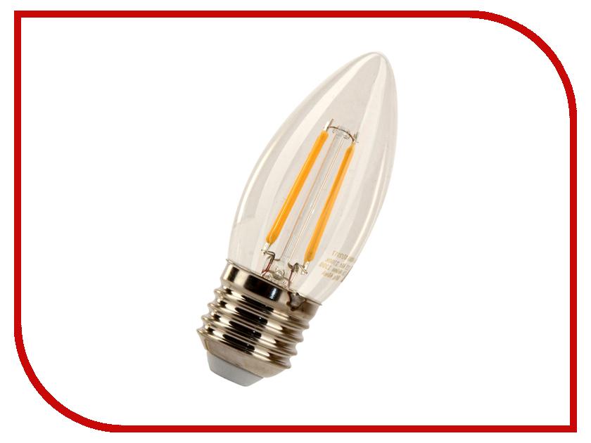 Лампочка X-flash XF-E27-FL-C35-4W-2700K-230V 48861 лампочка feron lb 61 4led e27 5w 2700k 230v 13418